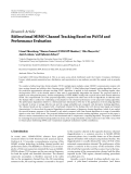 "Báo cáo hóa học: ""  Research Article Bidirectional MIMO Channel Tracking Based on PASTd and Performance Evaluation"""