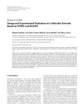 """Báo cáo hóa học: """"  Research Article Design and Experimental Evaluation of a Vehicular Network Based on NEMO and MANET"""""""
