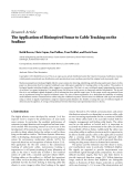 """Báo cáo hóa học: """"  Research Article The Application of Bioinspired Sonar to Cable Tracking on the Seafloor"""""""