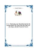Marketing trực tiếp nhằm thu hút thị trường khách Việt Nam đi du lịch Thái Lan của công ty du lịch Transviet Travel