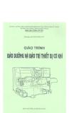 Giáo trình bảo dưỡng và bảo trì thiết bị cơ khí part 1