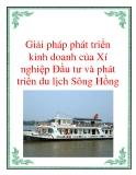Giải pháp phát triển  kinh doanh của Xí nghiệp Đầu tư và phát triển du lịch Sông Hồng
