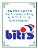 Thực trạng và các giải pháp Marketing tại Công ty  Bi Ti 'S trên thị trường Miền Bắc