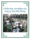 Chiến lược sản phẩm của công ty Sơn Hải Phòng
