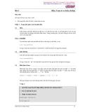 Lập trình C-Bài 3: Biến, Toán tử và Kiểu dữ liệu