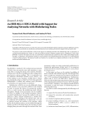 "Báo cáo hóa học: "" Research Article An IEEE 802.11 EDCA Model with Support for Analysing Networks with Misbehaving Nodes"""