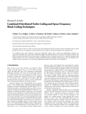 "Báo cáo hóa học: "" Research Article Combined Distributed Turbo Coding and Space Frequency Block Coding Techniques"""