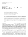"""Báo cáo hóa học: """"  Research Article TOA Estimation and Data Association for Through-Wall Tracking of Moving Targets"""""""