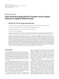 """Báo cáo hóa học: """" Research Article Game Theoretical Approaches for Transport-Aware Channel Selection in Cognitive Radio Networks"""""""