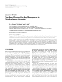 "Báo cáo hóa học: "" Research Article Tree Based Protocol for Key Management in Wireless Sensor Networks"""
