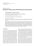"""Báo cáo hóa học: """" Research Article Performance Analysis of the 3GPP-LTE Physical Control Channels"""""""