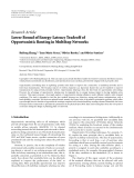"Báo cáo hóa học: "" Research Article Lower Bound of Energy-Latency Tradeoff of Opportunistic Routing in Multihop Networks"""