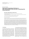 """Báo cáo hóa học: """"  Research Article Improving the Dominating-Set Routing over Delay-Tolerant Mobile Ad-Hoc Networks via Estimating Node Intermeeting Times"""""""
