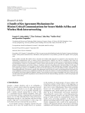 "Báo cáo hóa học: "" Research Article A Family of Key Agreement Mechanisms for Mission Critical Communications for Secure Mobile Ad Hoc and Wireless Mesh Internetworking"""