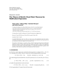 """Báo cáo hóa học: """" Research Article The Theory of Reich's Fixed Point Theorem for Multivalued Operators"""""""