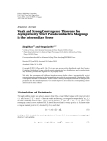 """Báo cáo hóa học: """"  Research Article Weak and Strong Convergence Theorems for Asymptotically Strict Pseudocontractive Mappings in the Intermediate Sense"""""""