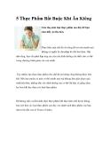 5 Thực Phẩm Bắt Buộc Khi Ăn Kiêng