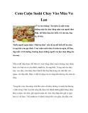 Cơm Cuộn Sushi Chay Vào Mùa Vu Lan