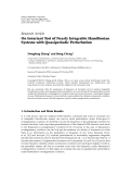 """báo cáo hóa học:""""  Research Article On Invariant Tori of Nearly Integrable Hamiltonian Systems with Quasiperiodic Perturbation"""""""