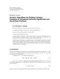 """báo cáo hóa học:""""  Research Article Iterative Algorithms for Finding Common Solutions to Variational Inclusion Equilibrium and Fixed Point Problems"""""""