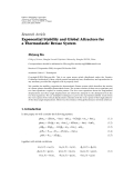 """báo cáo hóa học:""""  Research Article Exponential Stability and Global Attractors for a Thermoelastic Bresse System"""""""