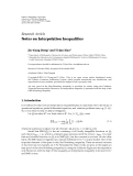 "báo cáo hóa học:"" Research Article Notes on Interpolation Inequalities Jiu-Gang Dong1 and Ti-Jun Xiao2"""