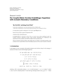 """báo cáo hóa học:"""" Research Article ¨ On Coupled Klein-Gordon-Schrodinger Equations with Acoustic Boundary Conditions"""""""