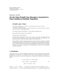 "báo cáo hóa học:""  Research Article On the Time Periodic Free Boundary Associated to Some Nonlinear Parabolic Equations"""