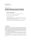 """báo cáo hóa học:"""" Research Article Variational Approach to Impulsive Differential Equations with Dirichlet Boundary Conditions"""""""