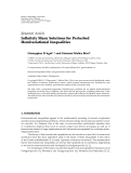 """báo cáo hóa học:"""" Research Article Infinitely Many Solutions for Perturbed Hemivariational Inequalities"""""""