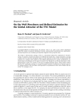 """báo cáo hóa học:""""  Research Article On the Well Posedness and Refined Estimates for the Global Attractor of the TYC Mod"""""""