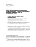 """báo cáo hóa học:"""" Research Article ´ ¨ Sharp Constants of Brezis-Gallouet-Wainger Type Inequalities with a Double Logarithmic Term on Bounded Domains in Besov and Triebel-Lizorkin Spaces"""""""