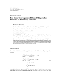 """báo cáo hóa học:"""" Research Article Two-Scale Convergence of Stekloff Eigenvalue Problems in Perforated Domains"""""""