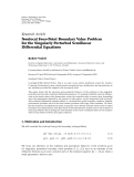 """báo cáo hóa học:"""" Research Article Nonlocal Four-Point Boundary Value Problem for the Singularly Perturbed Semilinear """""""