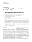 "báo cáo hóa học:""  Research Article Composition Kernel: A Software Solution for Constructing a Multi-OS Embedded System"""