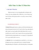 Tài liệu Kiến Thức Cơ Bản Về Phân Bón