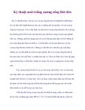 Kỷ thuật nuôi trồng xương rồng Bát tiên
