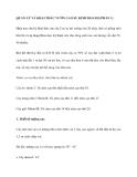 QUẢN LÝ VÀ KHAI THÁC VƯỜN CAO SU KINH DOANH (PHẦN 1)