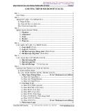 Giáo trình tin học văn phòng -  về Excel