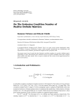 "Báo cáo sinh học: ""  Research Article On The Frobenius Condition Number of Positive Definite Matrices"""