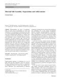 "Báo cáo hóa học: ""  Directed Self-Assembly: Expectations and Achievements Prashant Kumar"""