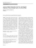 "Báo cáo hóa học: ""   Aqueous Solution Preparation, Structure, and Magnetic Properties of Nano-Granular ZnxFe32xO4 Ferrite Films"""