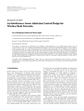 """Báo cáo hóa học: """" Research Article An Interference-Aware Admission Control Design for Wireless Mesh Networks"""""""