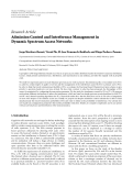 """Báo cáo hóa học: """"Research Article Admission Control and Interference Management in Dynamic Spectrum Access Networks"""""""