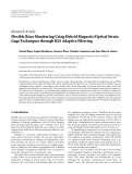 """Báo cáo sinh học: """"  Research Article Flexible Riser Monitoring Using Hybrid Magnetic/Optical Strain Gage Techniques through RLS Adaptive Filtering"""""""