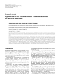 """Báo cáo sinh học: """" Research Article Eigenvectors of the Discrete Fourier Transform Based on the Bilinear Transform"""""""