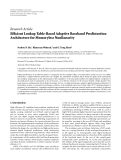"""Báo cáo sinh học: """" Research Article Efficient Lookup Table-Based Adaptive Baseband Predistortion Architecture for Memoryless Nonlinearity"""""""