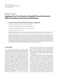 """Báo cáo sinh học: """"  Research Article Appling a Novel Cost Function to Hopfield Neural Network for Defects Boundaries Detection of Wood Image"""""""