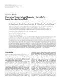"Báo cáo sinh học: "" Research Article Uncovering Transcriptional Regulatory Networks by Sparse Bayesian Factor Model"""