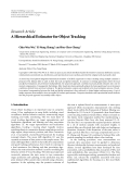 """Báo cáo sinh học: """" Research Article A Hierarchical Estimator for Object Tracking"""""""